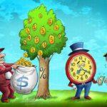 Tư duy khác biệt giữa người nghèo và người giàu bằng hình ảnh