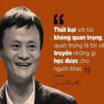 Những phát ngôn truyền cảm hứng của Jack Ma