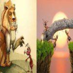 Bài học quản lý nhân sự qua câu chuyện Sư tử và kiến