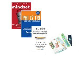 Tư duy nhanh và chậm, Phi lý trí và Tâm lý học thành công (tặng kèm bookmark)